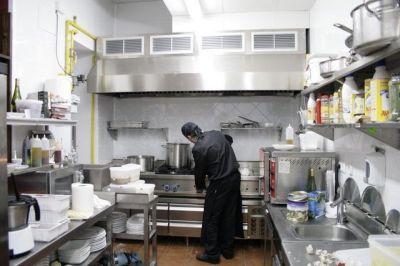 Cocina restaurante tubos