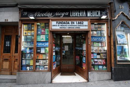 Librería médica Nicolás Moya. Calle Carretas, 29_2015