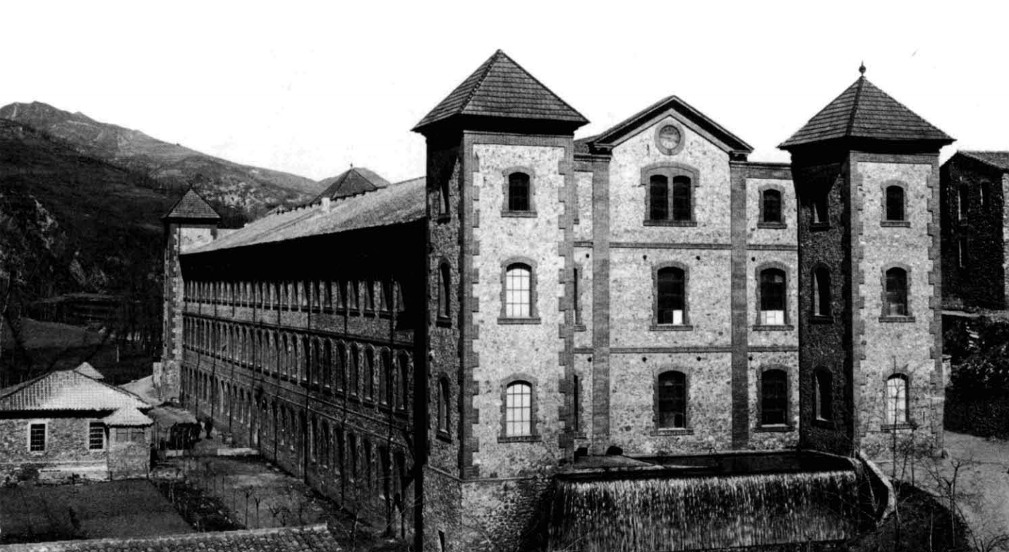 FÁBRICA ESPONA San Juan de las Abadesas c.1900