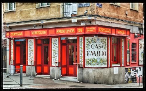 Casa Emilio, López de Hoyos, en la Prosperidad (Foto: Enrique F. Rojo, 2019)