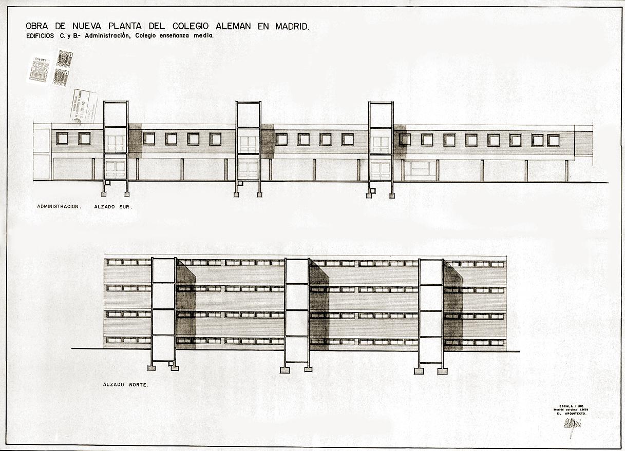 Colegio Alemán-Alzado edificios C y B