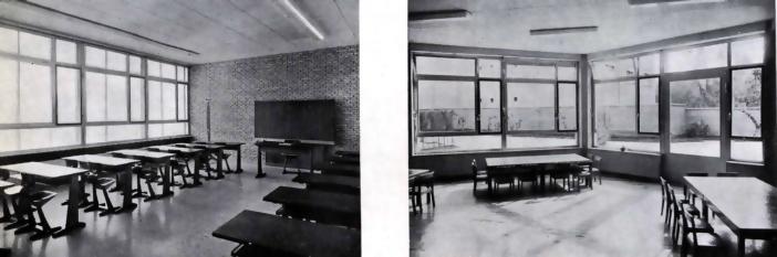 Colegio alemán aulas-1960