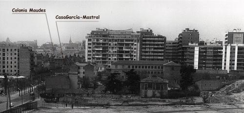 Calle Raimundo Fernandez con Orense_colegio Patrocinio San José 1968