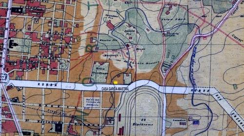 Plano Facundo Cañada 1902 sección Ronda de Ensanche copia