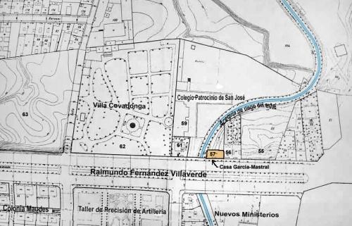 Plano parcelario 1947