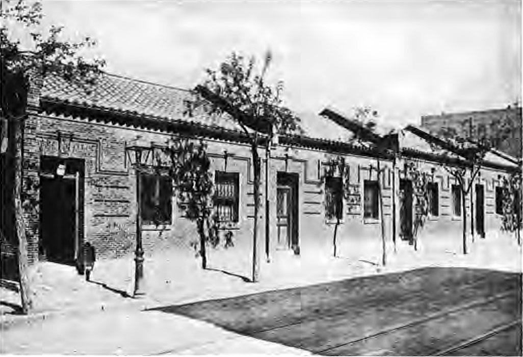 LCB-Grupo casas calle Gremios La Guindalera