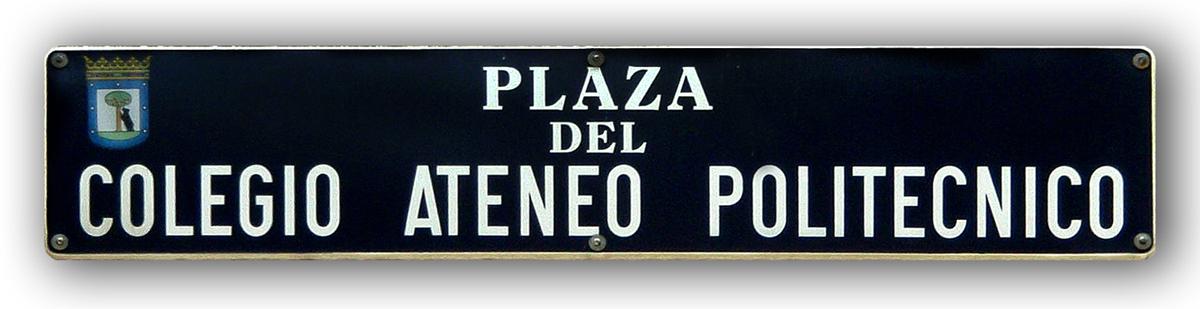Plaza Ateneo Politécnico 2020SM